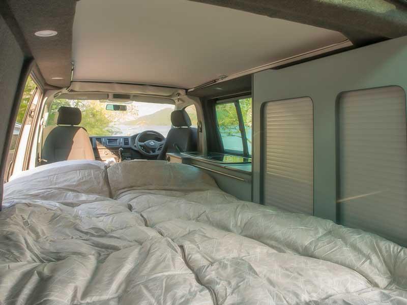 kidsty campervan inside